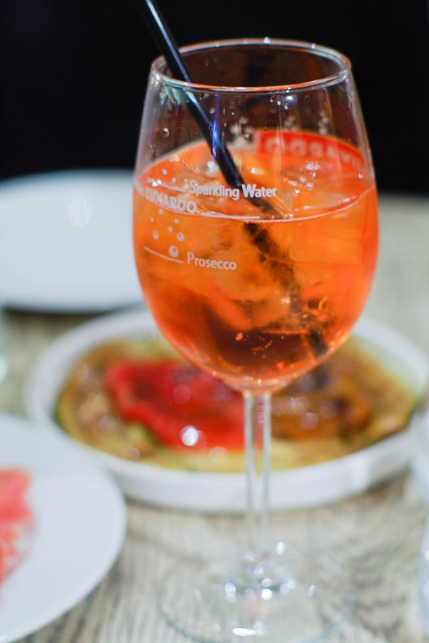 restaurant bellagio spritz