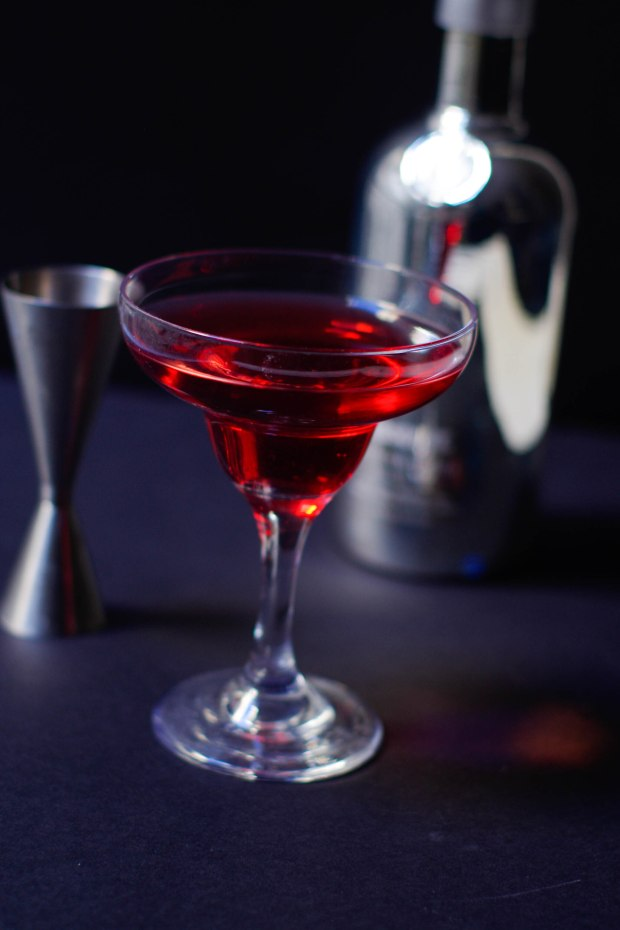 absolutely red cocktail