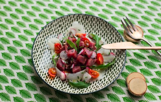 ceviche de thon food cheri