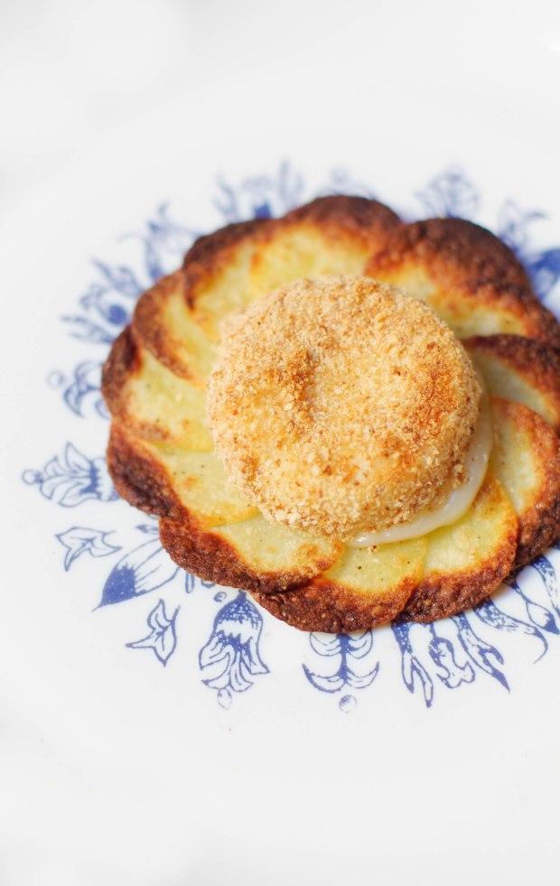 rosace pommes de terre fromage