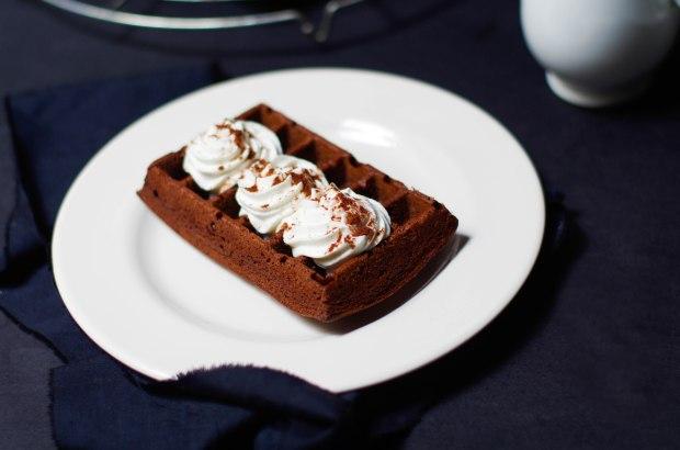 gaufres chocolat chantilly