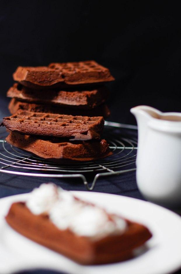 gaufres tout chocolat