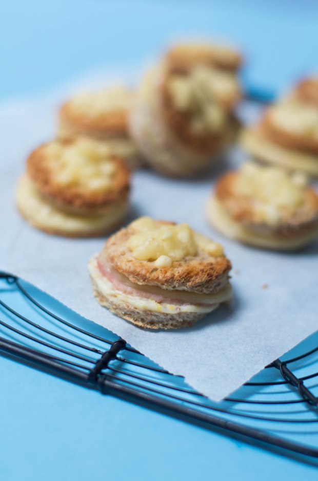 mini croque monsieur jambon fromage
