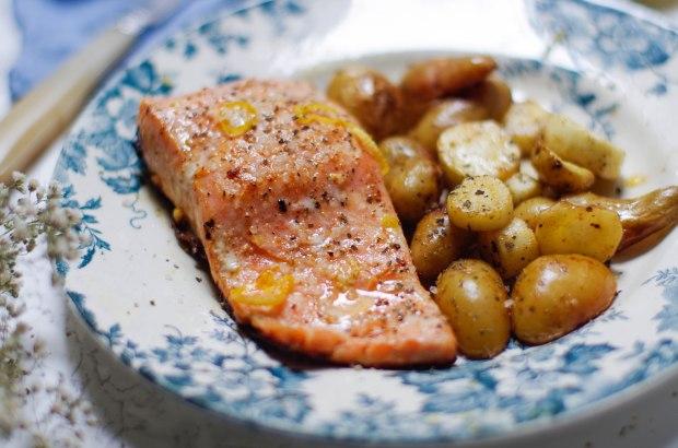 saumon gingembre et citron fb