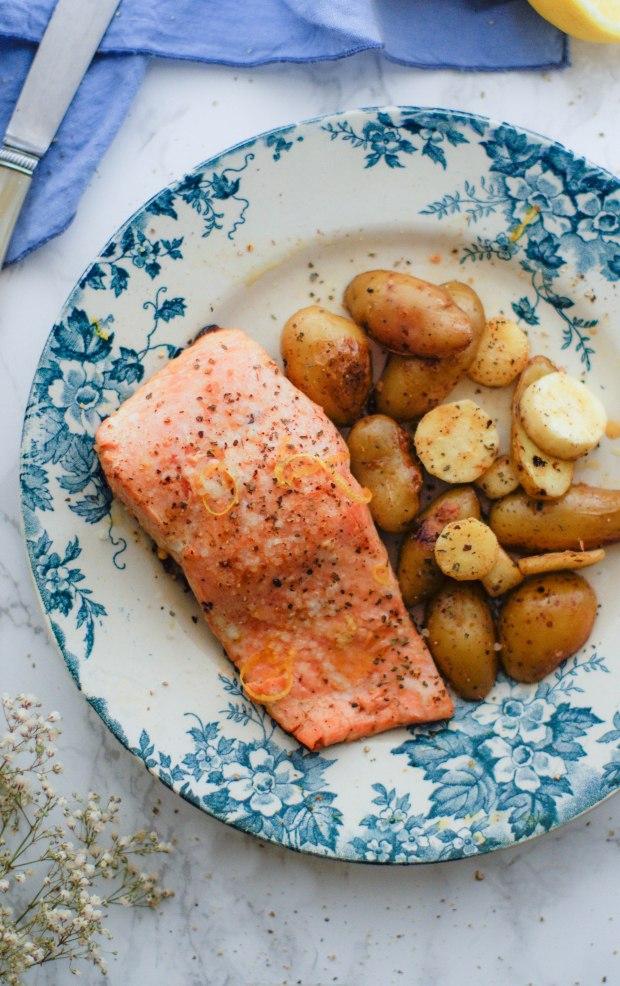 saumon gingembre et citron