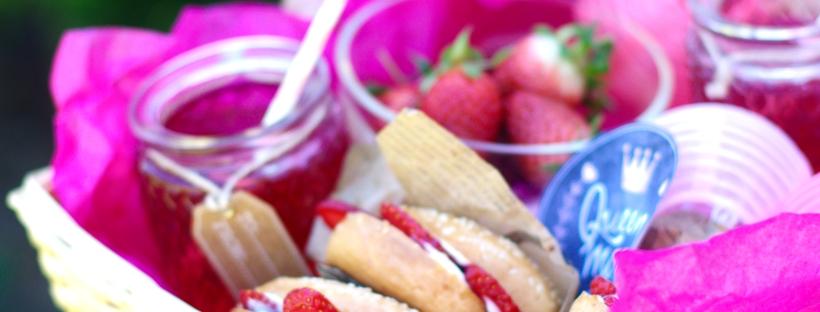 queen mom box bagels fraises