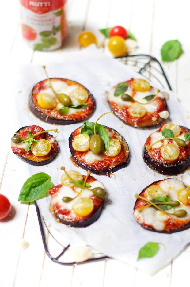 pizza aubergines recette mutti