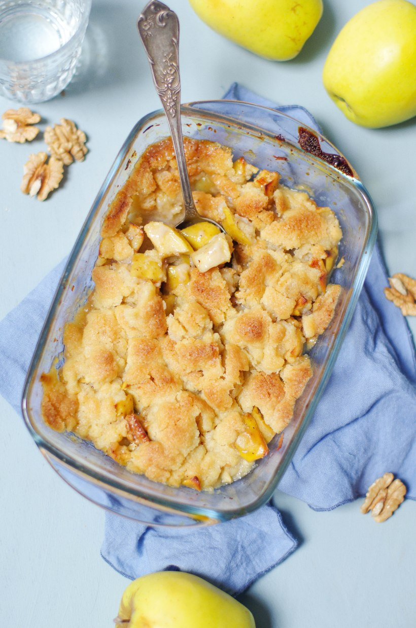 crumble-pommes-noix-epices