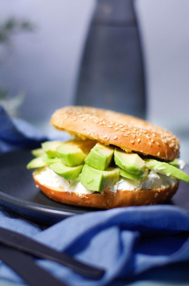 recette-bagel-vegetarien