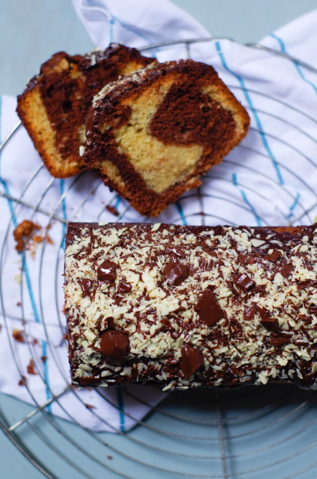 recette-gateau-marbre-chocolat