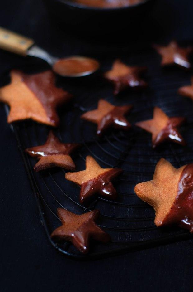 étoiles chocolat