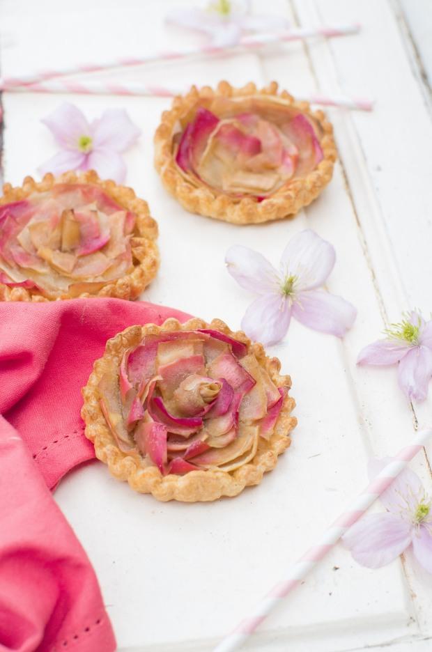 tartelettes fleurs