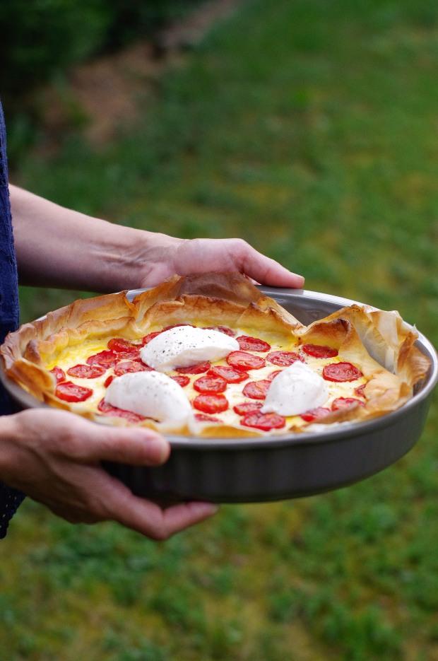 tarte tomates mozza