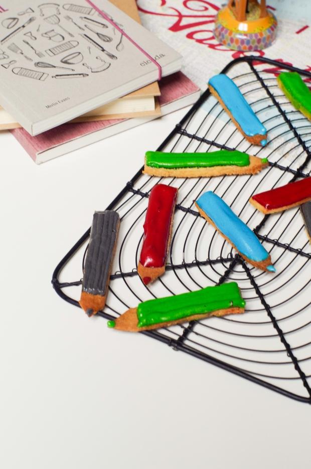 crayons sablés