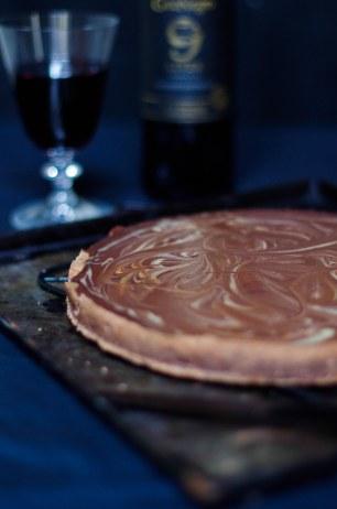 tarte chocolat caramel-2