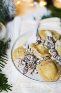 ravioles de foie gras sauce morilles-2