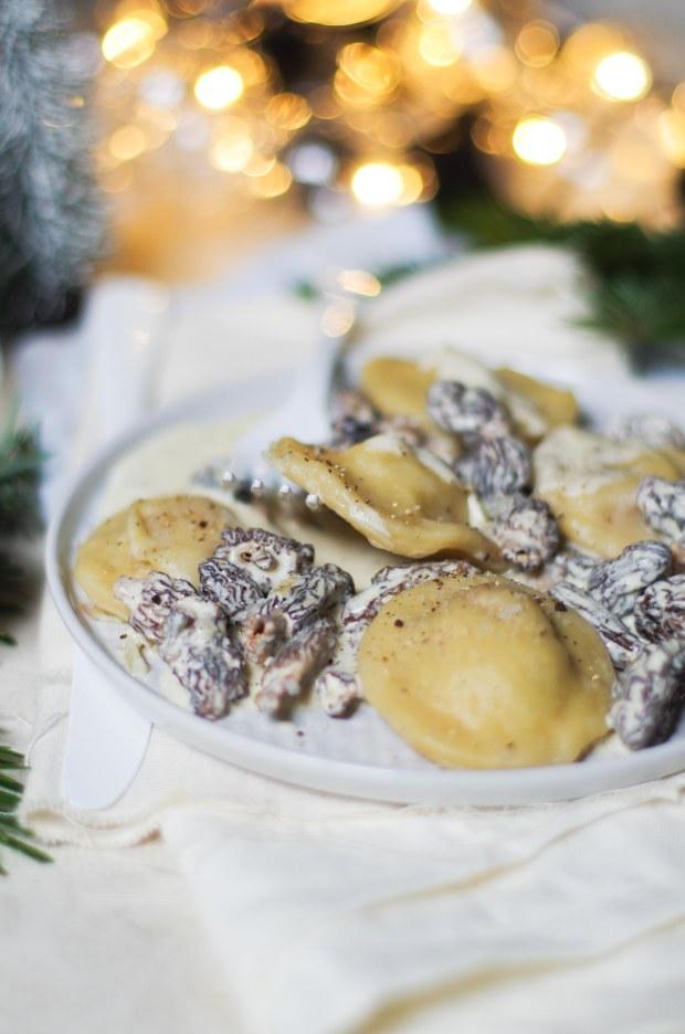 ravioles de foie gras sauce morilles-3