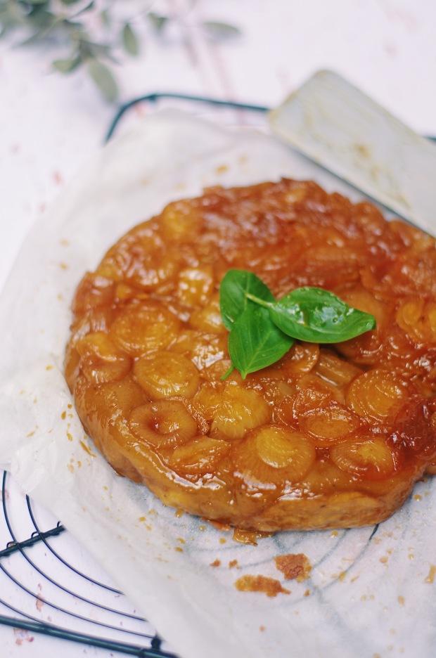 tarte tatin aux oignons
