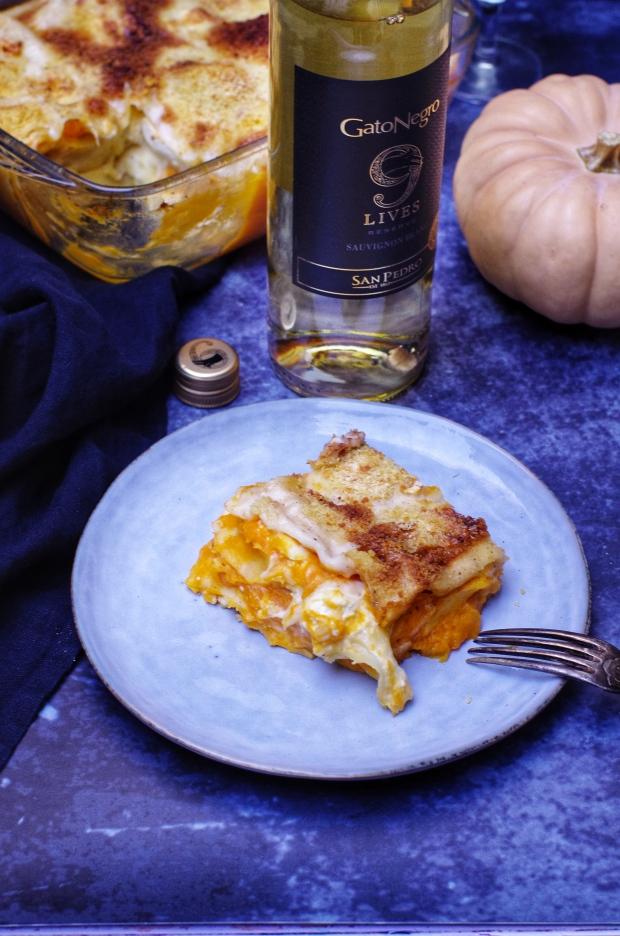 recette de lasagnes chèvre butternut
