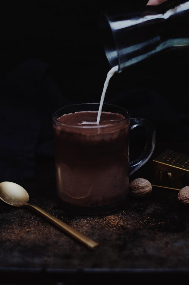 recette de chocolat chaud aux épices